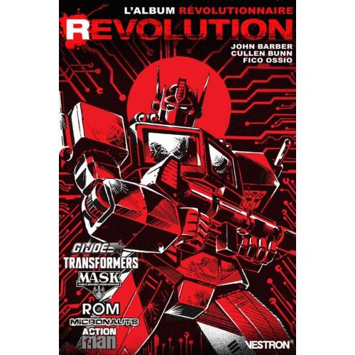 REVOLUTION - TRANSFORMERS / M.A.S.K. / G.I. JOE / ROM / MICRONAUTS / ACTION MAN (VF)