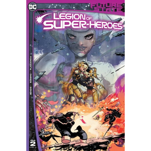 FUTURE STATE LEGION OF SUPER-HEROES 2 (OF 2) CVR A RILEY ROSSMO (VO)