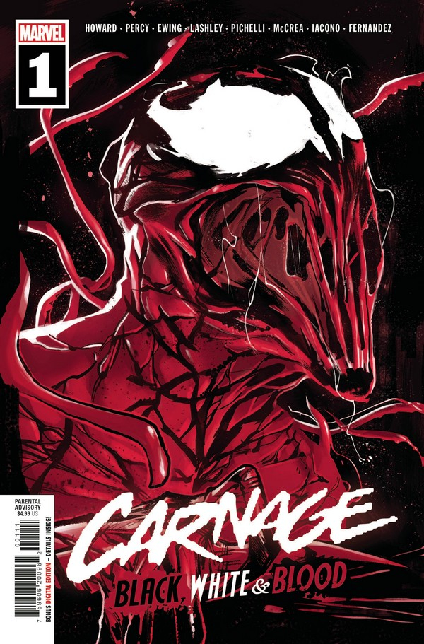 CARNAGE BLACK WHITE AND BLOOD 1 (OF 4) (VO)