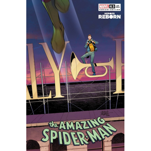 AMAZING SPIDER-MAN 63 PACHECO REBORN VAR (VO)