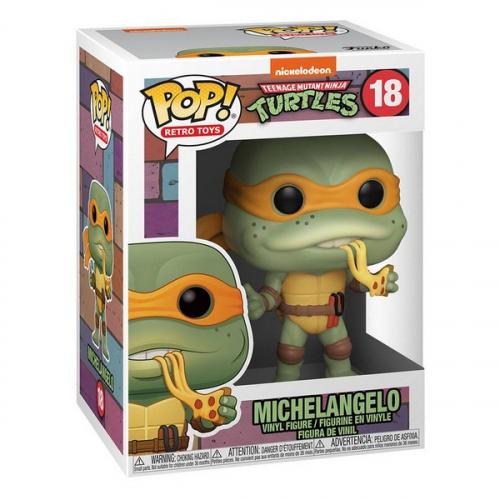 Funko Pop Les Tortues Ninja POP! Television Vinyl figurine Michelangelo 18
