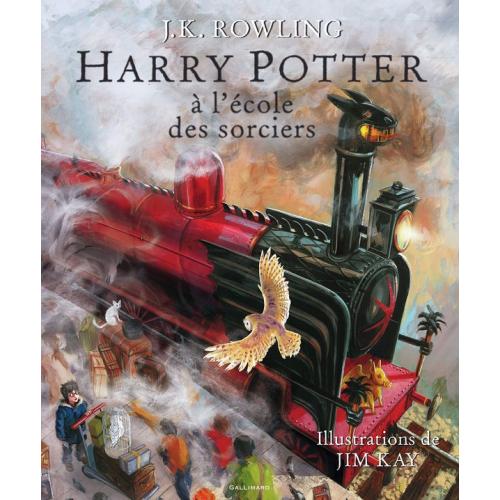 Harry Potter à l'école des sorciers Livre Illustré (VF)