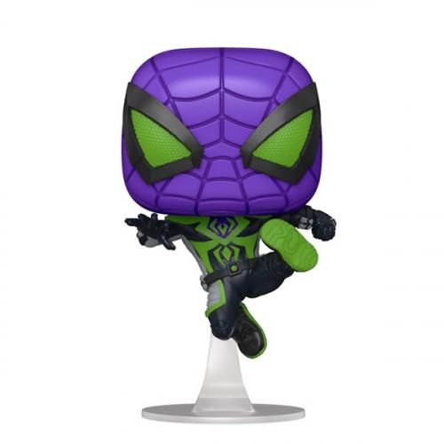 Funko Pop Marvel Pop Games Miles Morales Purple Suit 839