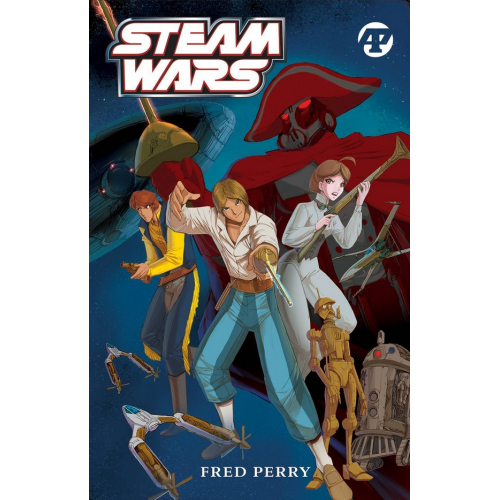 STEAM WARS HC WITH SOUNDTRACK CD (VO)