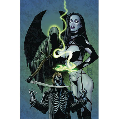 TAROT WITCH OF THE BLACK ROSE 127 (VO)