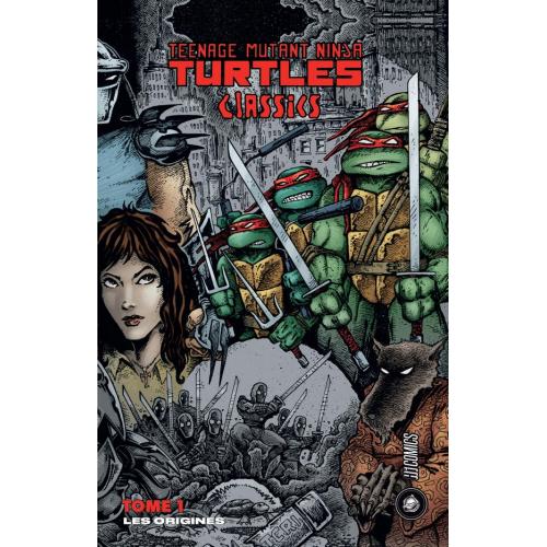 Les Tortues Ninja -TMNT Classics Tome 1 : Les Origines (VF) 2nd tirage