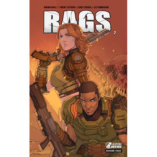 RAGS tome 2 - Second tirage - Edition Collector - 250 ex (VF)