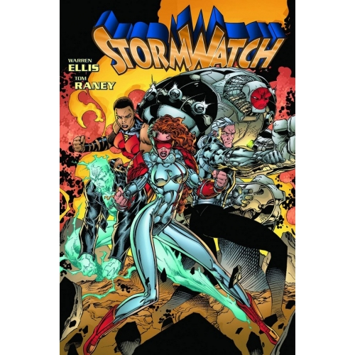 The Authority : les années Stormwatch tome 1 (VF) cartonné