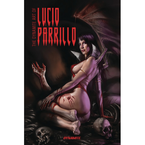DYNAMITE ART OF LUCIO PARRILLO HC couverture rayée (VO) occasion