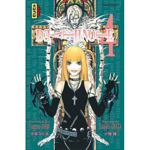 Death Note Tome 4 (VF)