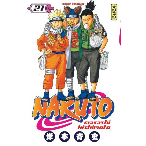 Naruto Tome 21 (VF)