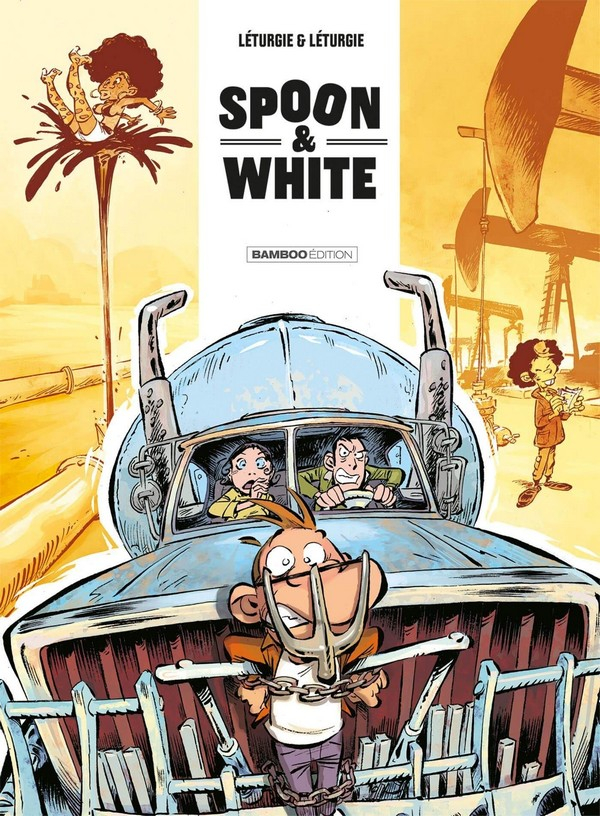 Spoon and white - tome 09 : Road'n'trip (VF)