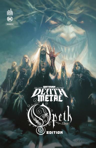 BATMAN DEATH METAL 4 OPETH EDITION TOME 4 (VF)