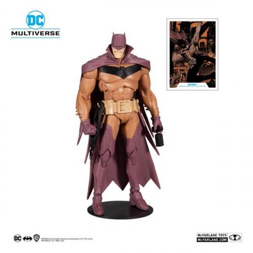 DC Multiverse figurine White Knight Batman (Red Variant) 18 cm