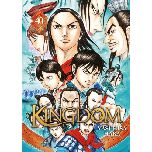 Kingdom Tome 40 (VF)