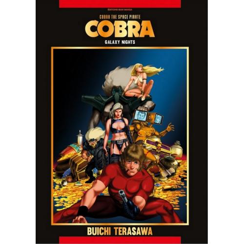 Cobra The Space Pirate Tome 4 (Galaxy Nights) (VF)