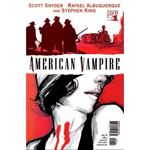 American Vampire Tome 1: sang neuf Panini Comics (VF) occasion