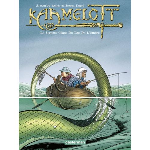 Kaamelott Tome 5 : Le serpent géant du lac de l'ombre (VF)