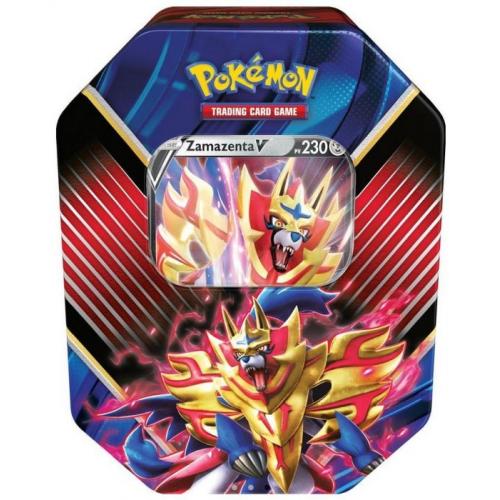 Pokémon Pokebox Lot de 4 boosters Zamazenta