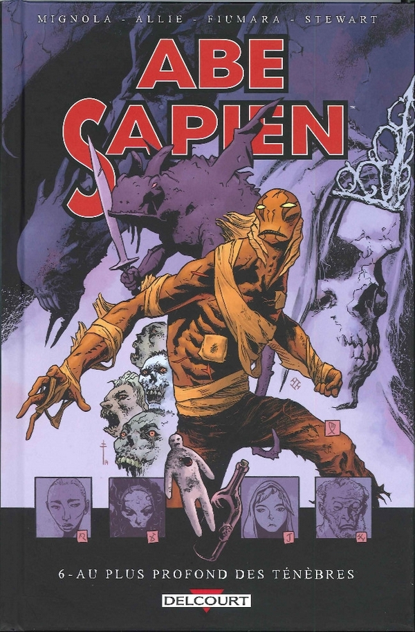 Abe Sapien Tome 07 - Le Brasier Secret (VF)