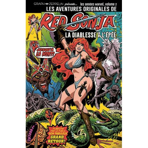 Les aventures originales de Red Sonja Volume 2 : Les années Marvel : 1977 (VF)