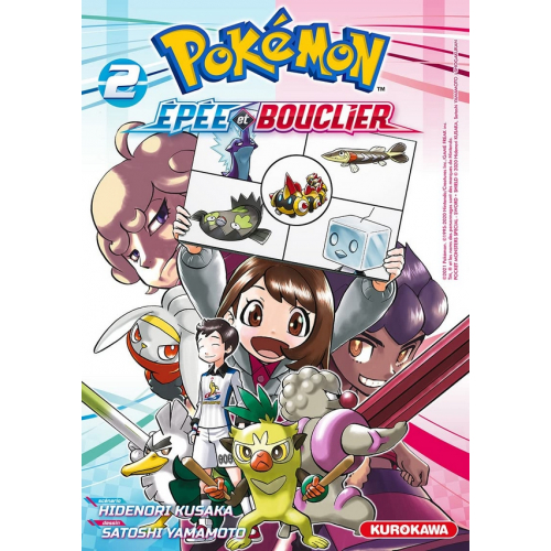 Pokémon Épée et Bouclier Tome 2 (VF)