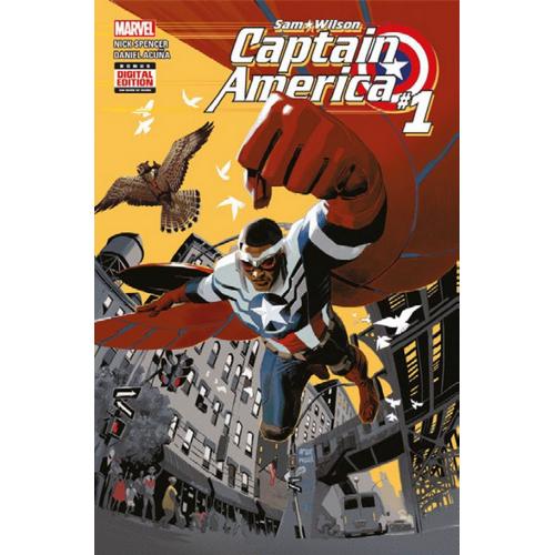 Captain America : Sam Wilson All New All Different Tome 1 (VF) occasion