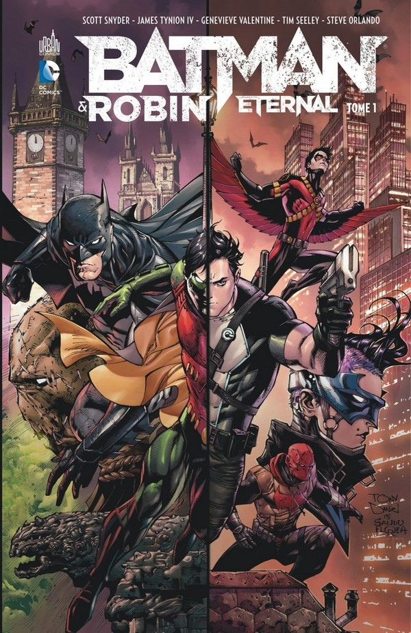 Batman & Robin Tome 1 (VF)