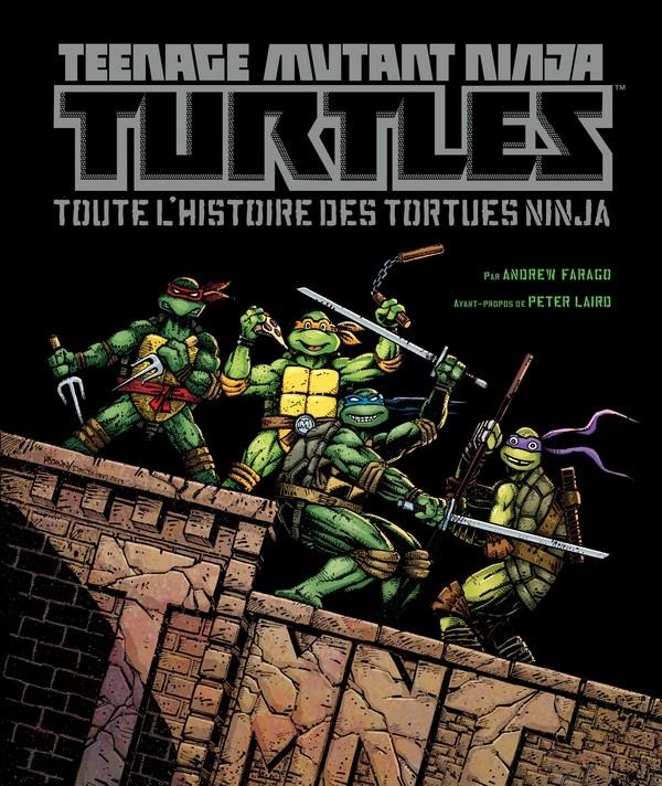 Teenage Mutant Ninja Turtles : Toutes l'histoire des Tortues Ninja