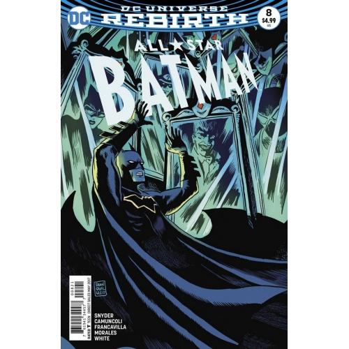 All Star Batman 8 Francavilla Variant (VO)