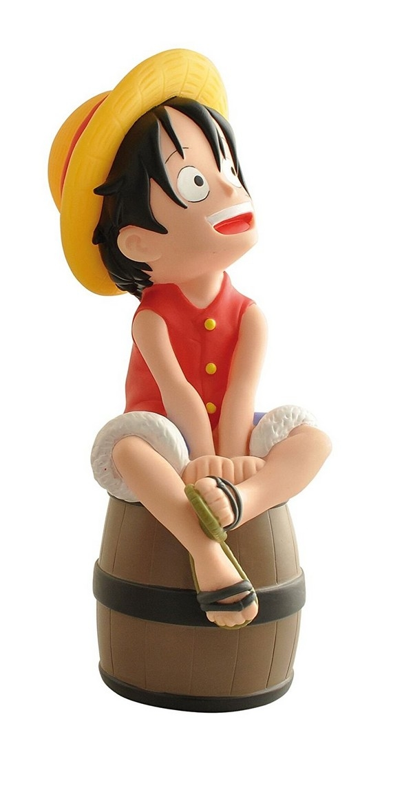Tirelire One Piece - Luffy sur son radeau