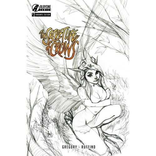 The Secret Life of Crows 2 J.Scott Campbell Variant (VF)