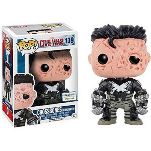 Funko Pop Civil War - Crossbones Unmasked 139