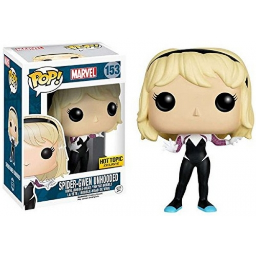 Funko Pop Spider-Gwen Unhooded Exclu 153