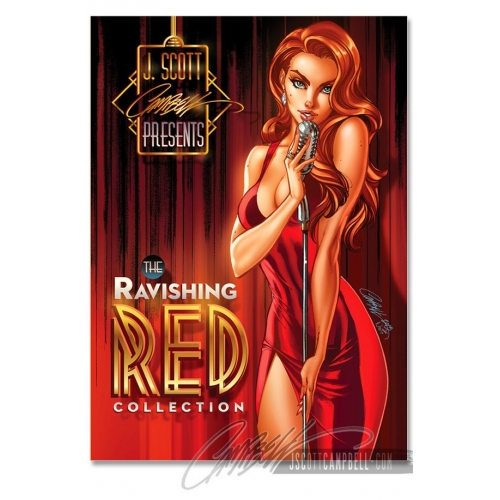 Ravishing Red - Artbook - J. Scott Campbell