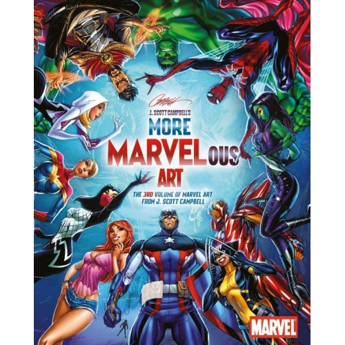 Marvelous Art Vol. 3 - Artbook - J. Scott Campbell (2017)