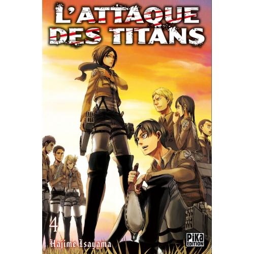 L'attaque des Titans Tome 4 (VF)