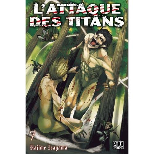 L'attaque des Titans Tome 7 (VF)