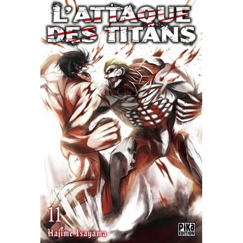 L'attaque des Titans Tome 11 (VF)