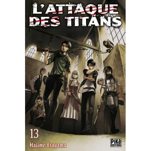 L'attaque des Titans Tome 13 (VF)