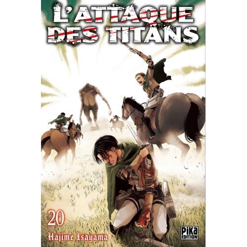 L'attaque des Titans Tome 20 (VF)