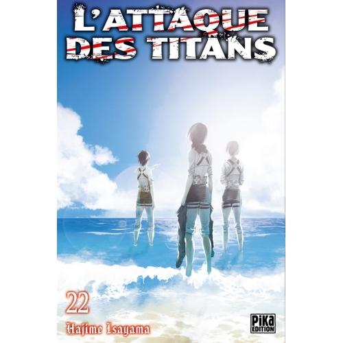L'attaque des Titans Tome 22 (VF)