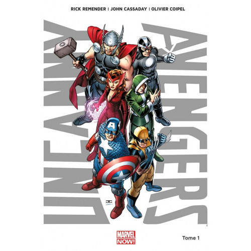Uncanny Avengers Tome 1 (VF)