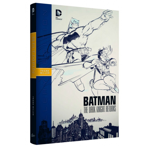 Batman Dark Knight Returns Gallery Ed Hc (VO)