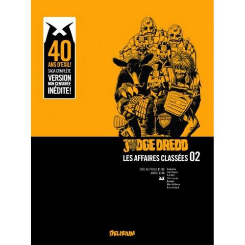 Judge Dredd : Affaires Classées tome 2 (VF)