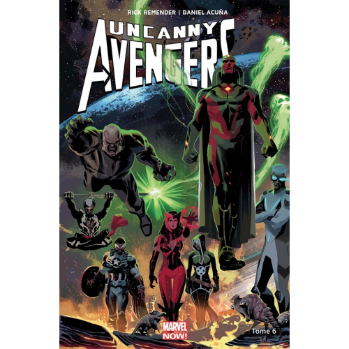 Uncanny Avengers Tome 6 (VF)