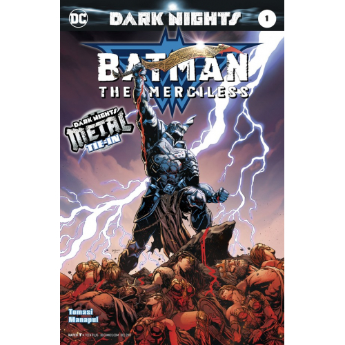 Batman : The Merciless 1- 2nd Print (VO) - METAL