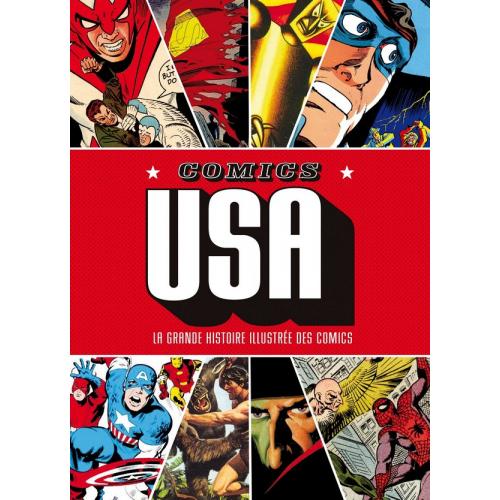 Comics USA La grande histoire illustrée des comics (VF)