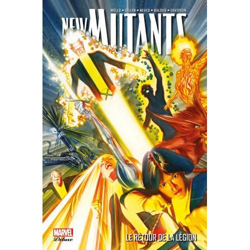 New Mutants Deluxe Tome 1 (VF) Les Nouveaux Mutants